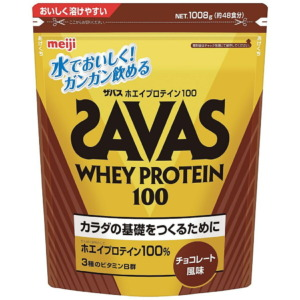 SAVAS (ザバス) サプリメント ホエイプロテイン100