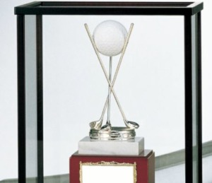 1位.トロフィー優勝カップのベスト徽章
